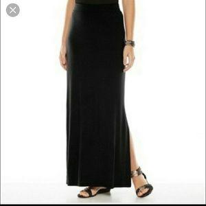 APT 9 Black Maxi Skirt XL